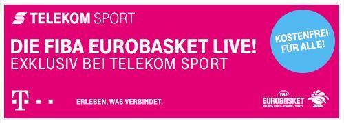 Banner Euro Basket Telekom TV-500